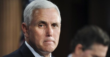 Indiana Gov. Mike Pence is scheduled to hold a news conference Tuesday to clarify the newly signed Religious Freedom Restoration Act. (PHOTO CREDIT: Reuters)