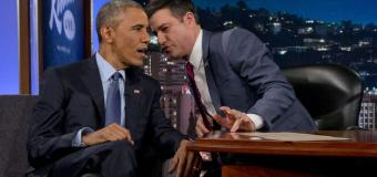 President Obama Talks Clinton E-mails, Ferguson Police Shooting, and Mean Tweets With Jimmy Kimmel