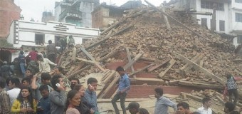 Over 1000 People Dead Following 7.9 Magnitude Earthquake In Nepal (Video)