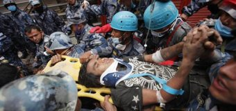Survivor Pulled from Rubble 5 Days After Nepal Quake