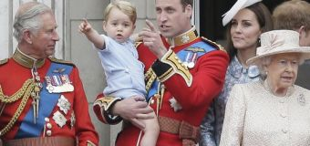 Prince George Joins Royal Family for First Time on Buckingham Palace Balcony