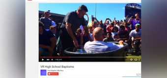 High School Football Team Under Fire After Holding Mass Baptism