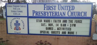Wisconsin Church Holds Star Wars-Themed Service for Message of Hope and Peace