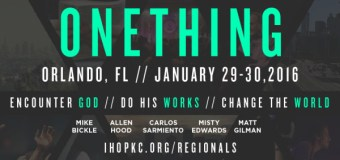 "Misty Edwards and Matt Gilman to Appear at ""Onething Orlando 2016"" Friday and Saturday, January 29 & 30"