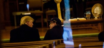 Donald Trump Goes to Church In Iowa, Gets a Sermon on Humility