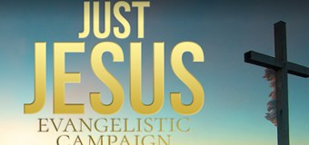 Daniel Whyte III Will Preach the 200th Gospel Message Live in the Year-Long Just Jesus Evangelistic Campaign Today, Monday, July 18th