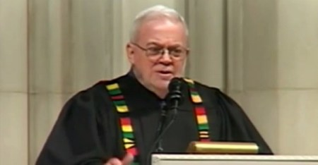Sojourners President Jim Wallis preaches March 13, 2016 at the Washington National Cathedral (Photo: Washington National Cathedral)