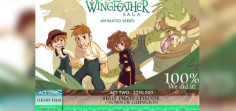 "Andrew Peterson Exceeds ""Wingfeather"" Kickstarter Goal"
