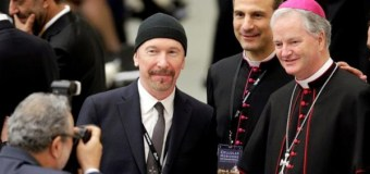 U2's The Edge Rocks the Sistine Chapel for Cancer Prevention