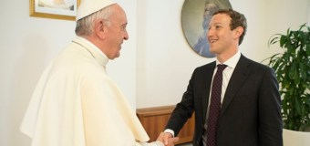 Pope Francis and Mark Zuckerberg Meet at the Vatican; Discuss Technology, Hope