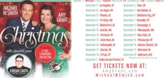 Outtakes Revealed From Amy Grant, Michael W. Smith and Jordan Smith's Christmas Tour (Video)