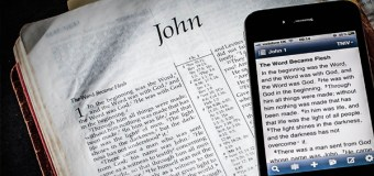 Which Bible Is More Holy: the Print Book or the Digital App?