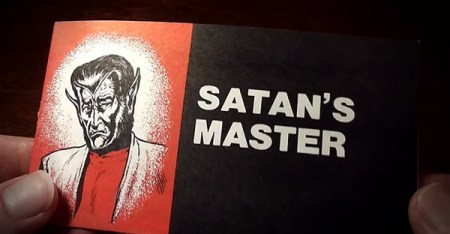 A Jack Chick tract. (Photograph: Youtube)