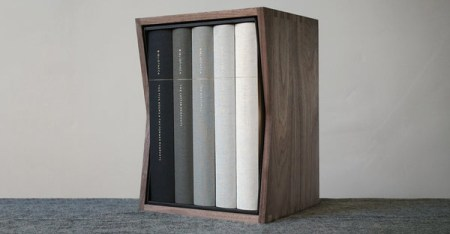 Bibliotheca divides the Bible into five sections: The Five Books & the Former Prophets, The Latter Prophets, The Writings, the Apocrypha, and the New Testament. (BIBLIOTHECA INC)
