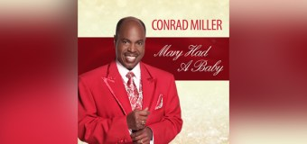 """Traditional Vocalist Conrad Miller Releases Christmas Single """"Mary Had a Baby"""" (Video)"""