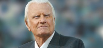 Billy Graham Named Among Gallup's 10 Most Admired Men for Record 60th Time