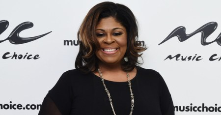 Kim Burrell Visits Music Choice on June 16, 2015 in New York City. (Ilya S. Savenok/Getty Images North America)