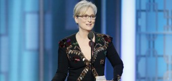 Actress Meryl Streep Uses Golden Globes Speech to Call Out Donald Trump
