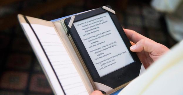 One of the first things Christians did with the computer was to put the Bible into digital formats (Credit: Getty Images)