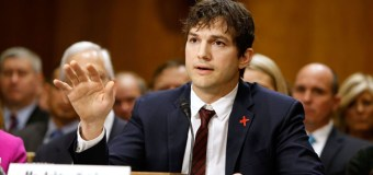 Ashton Kutcher Testifies Before Congress About Horrors of Sex Trafficking (Video)