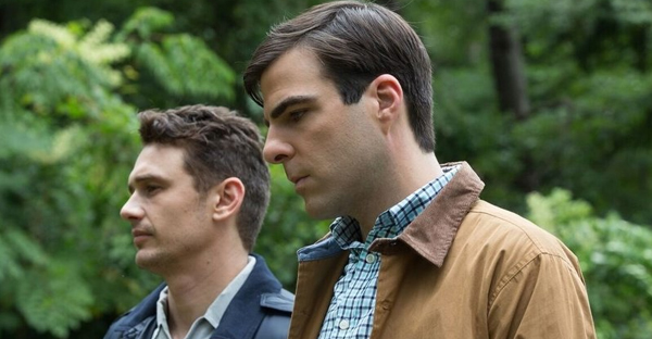 L to R: James Franco and Zachary Quinto star in writer-director Justin Kelly's I Am Michael. (Brainstorm Media)