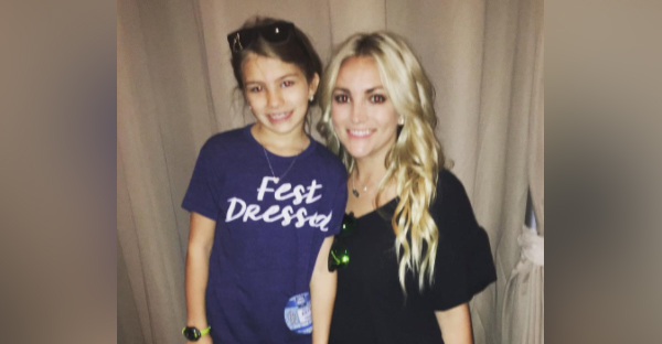 Jamie Lynn Spears's daughter is back to basketball — just two weeks after an ATV accident left her in critical condition. (Photo: Instagram)