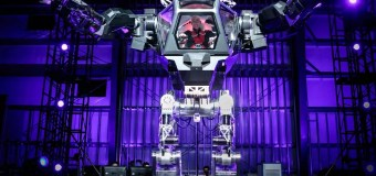 Jeff Bezos Pilots Giant, Mechanical Robot at Amazon's Annual Robotic Conference