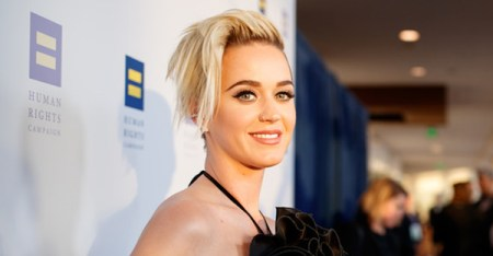 Singer Katy Perry arrives to The Human Rights Campaign 2017 Los Angeles Gala Dinner at JW Marriott Los Angeles at L.A. LIVE on March 18, 2017 in Los Angeles, California. (Christopher Polk/Getty Images North America)