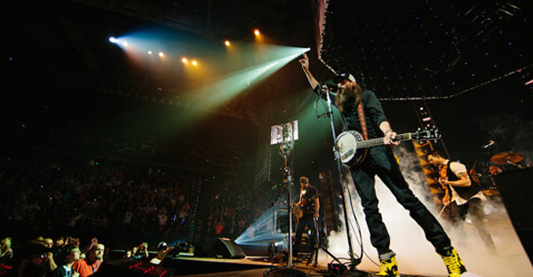 Crowder performs during the Winter Jam 2017 Tour Spectacular. (photo: Sterling Graves)