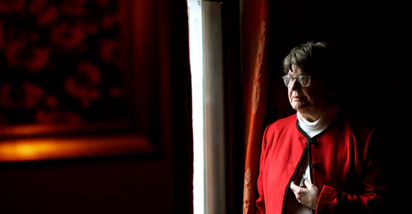 'I do what I do out of compassion for the American public who do not reflect deeply on the death penalty,' Sister Helen Prejean says. (Photograph: Graeme Robertson for the Guardian)