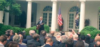 Steven Curtis Chapman Performed at National Day of Prayer Ceremony at White House