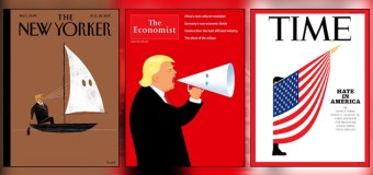 Magazine Covers Hit Trump Hard Over Charlottesville