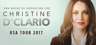 Renowned Puerto Rican Christian Singer and Author Christine D'Clario Returns for U.S. Tour and Partners With Compassion Organization