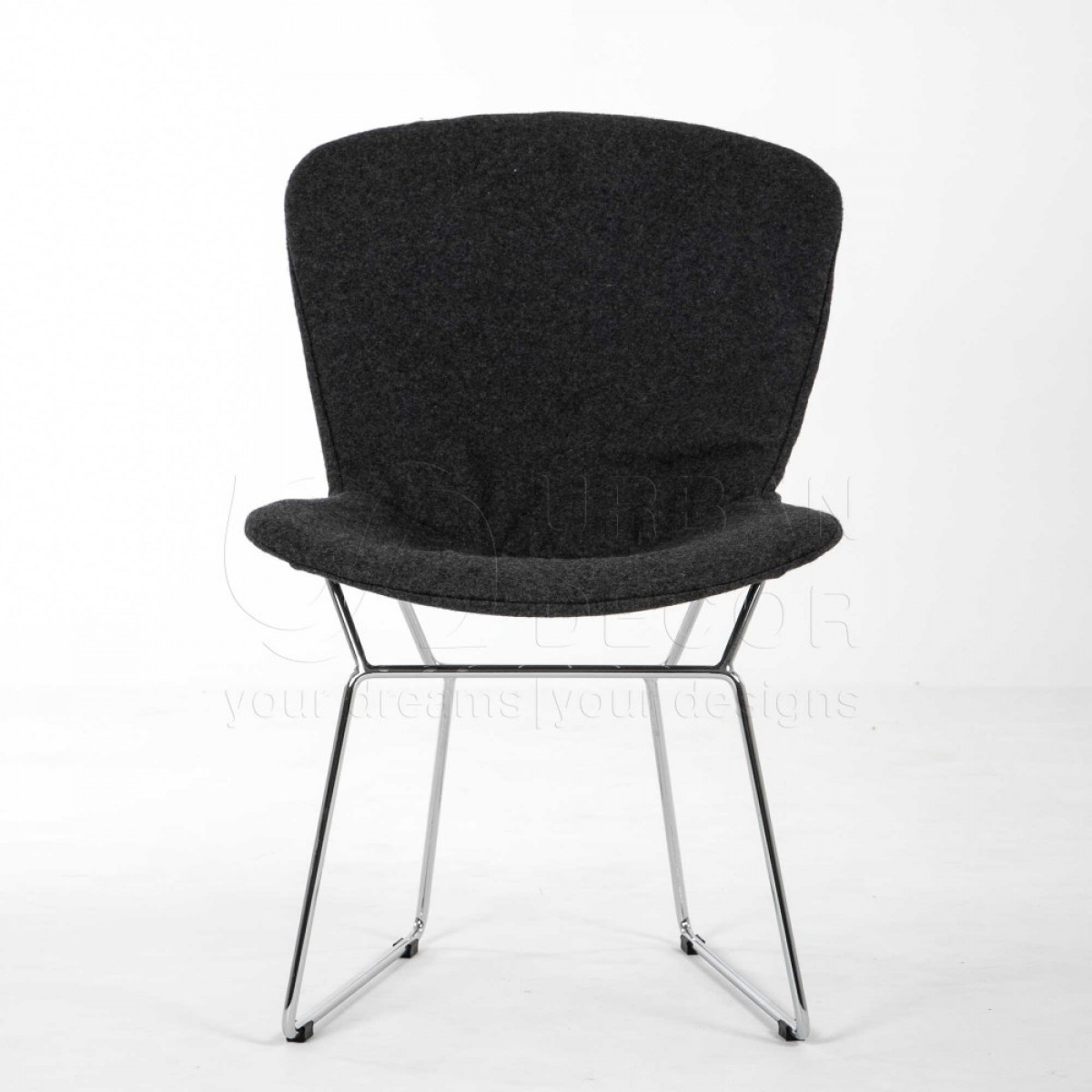Cloth Covered Office Chairs Wire Mesh Chair