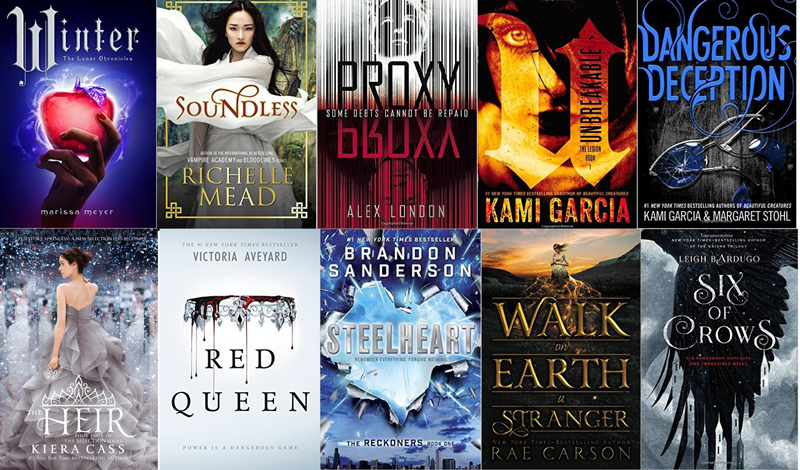 Young adults romance scifi books for