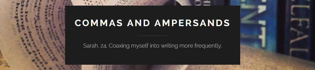 commas and ampersands book reviews
