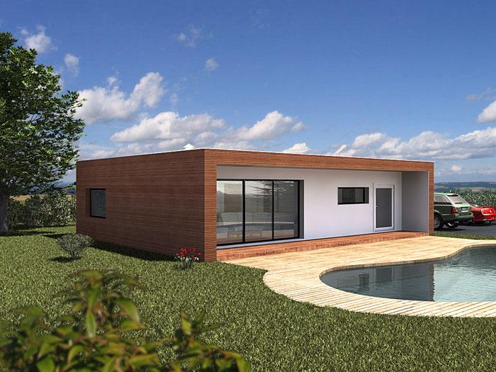 module home maison modulaire en bois. Black Bedroom Furniture Sets. Home Design Ideas