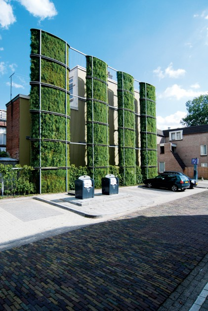 Architectuur Arnhem Green Facades | Urban Green-blue Grids
