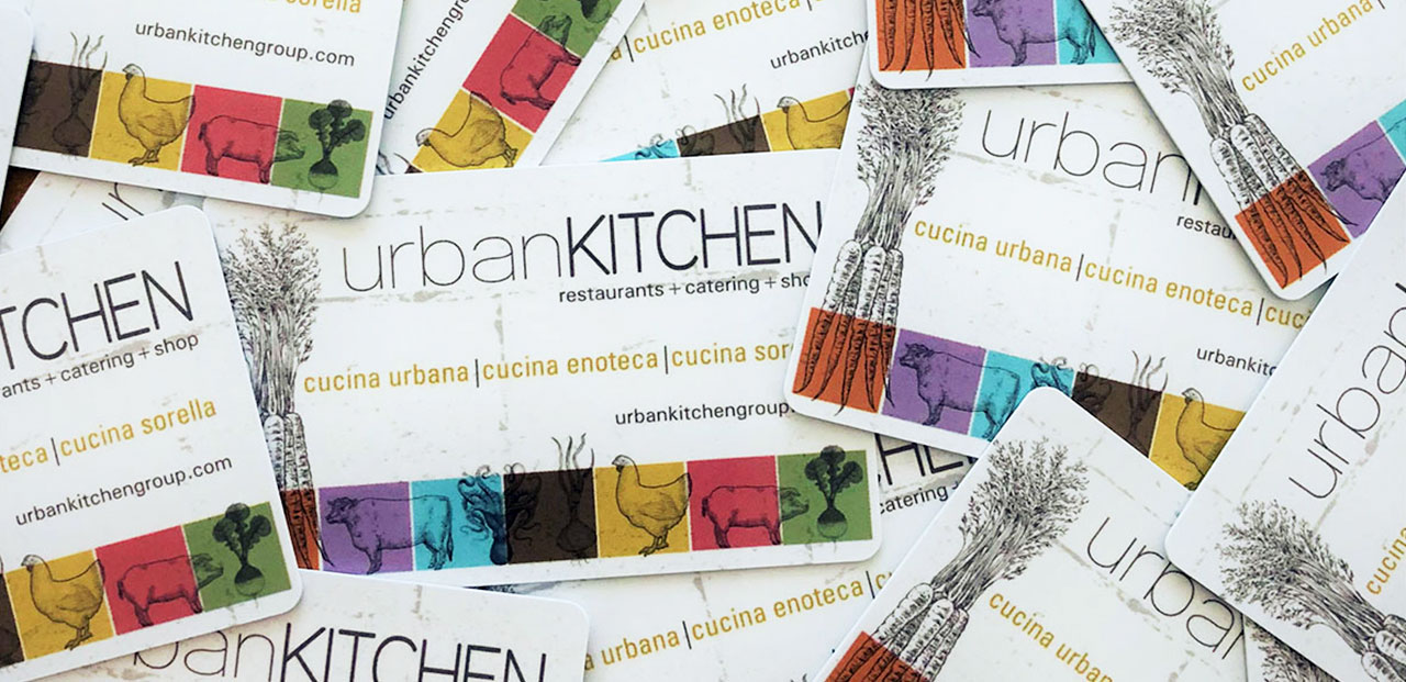Cucina Enoteca Menu Gift Cards Archives Urban Kitchen Shop