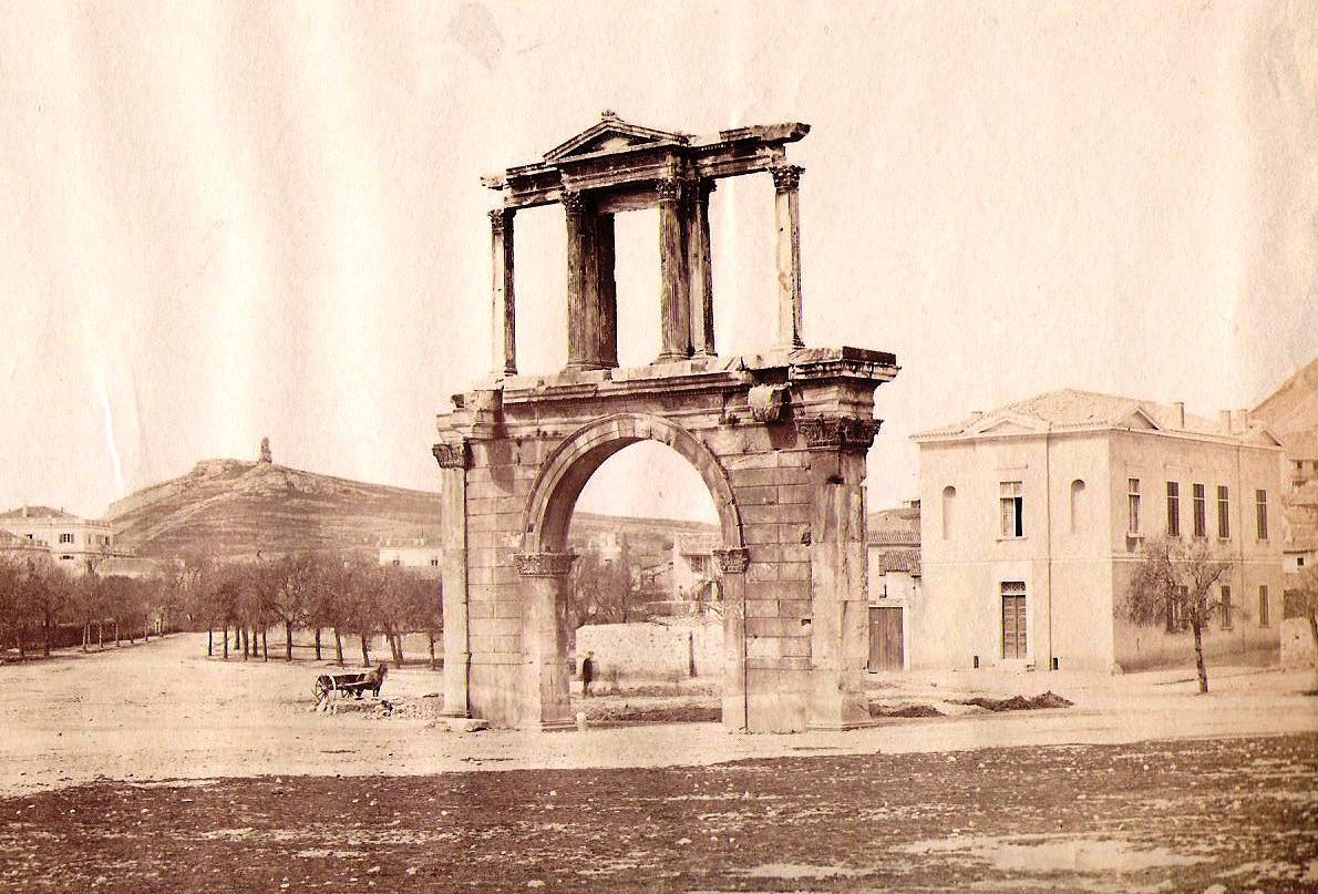 Image result for η πυλη του αδριανου