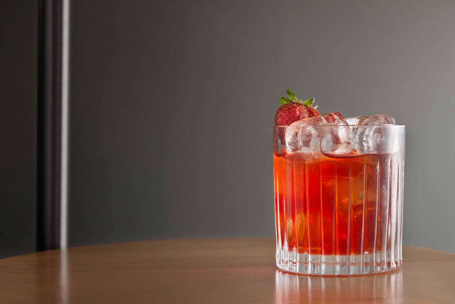 Strawberry Negroni by Kouchico
