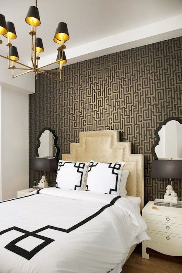 07551b077a95bc817b5a9e25bc4a480f--accent-wall-bedroom-art-deco-bedroom