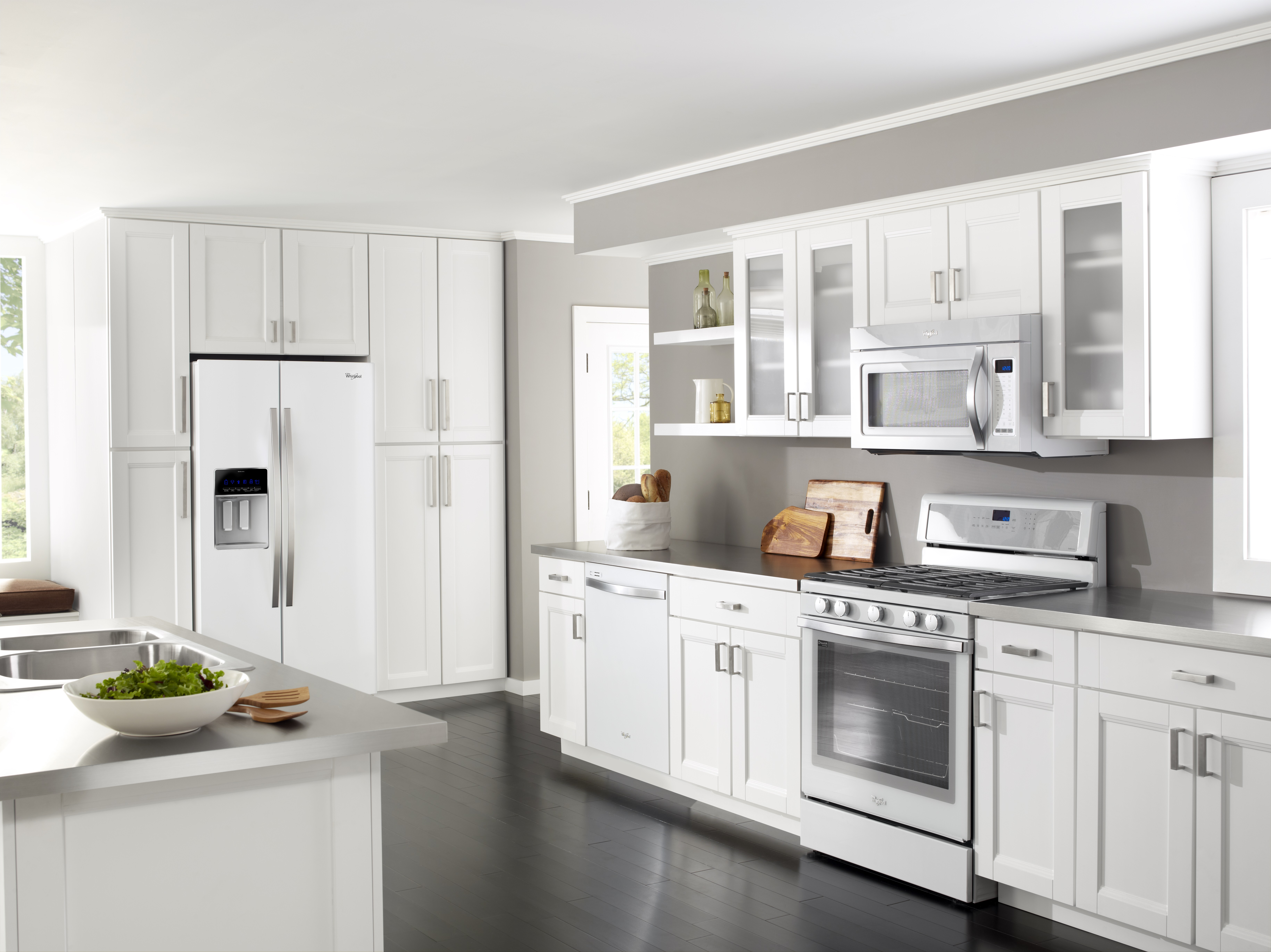 All White Kitchens With White Appliances Getting The Most Our Of Your New Kitchen Appliances
