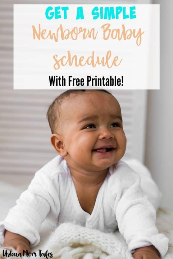 Get a Simple Newborn Baby Schedule · Urban Mom Tales - newborn baby schedule