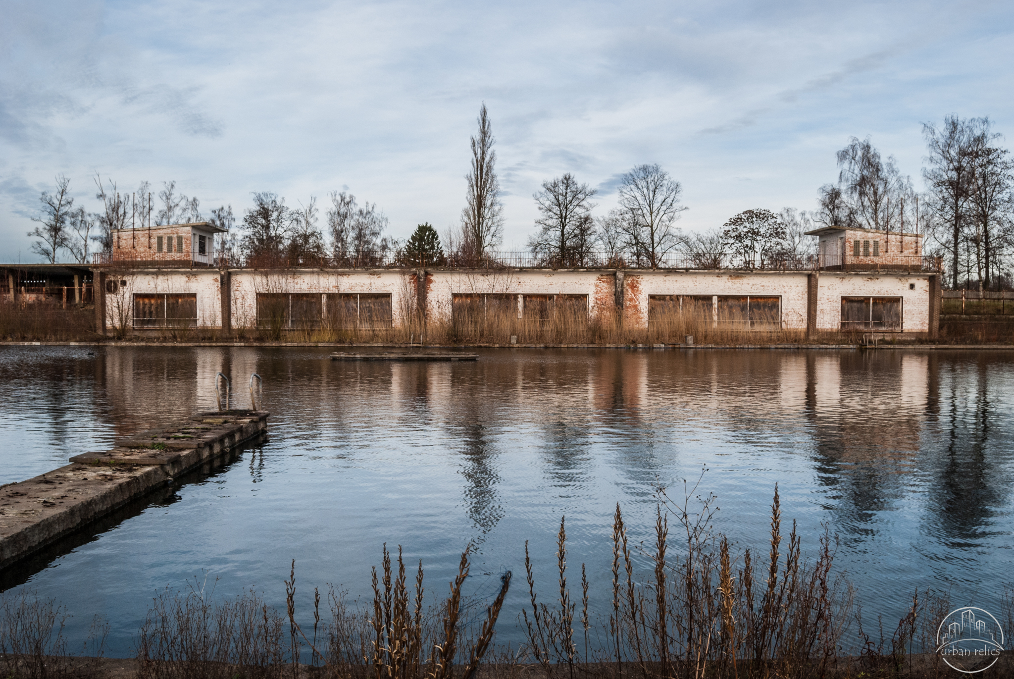 Grootste Europese Zwembad Bloso Pool Urban Relics