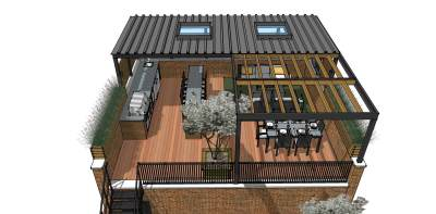 Roof Deck Renovation And Modernization-Lakeview, Chicago