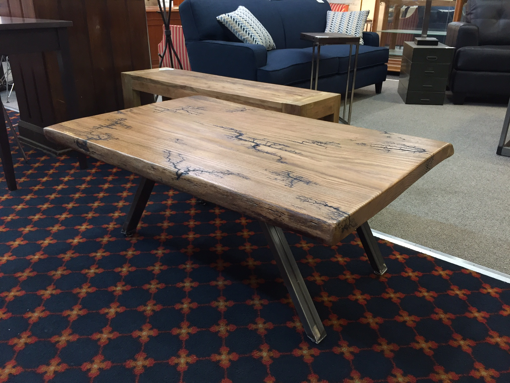 Urban Sofa Live Edge Occasional Tables Urban Timber