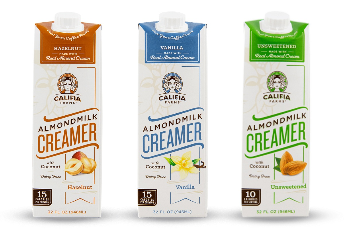 Califia Farms Almond Milk Creamers Review