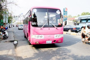 Five More Bus Lines for Phnom Penh
