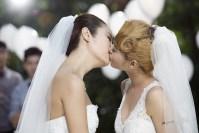 レズビアンの結婚式